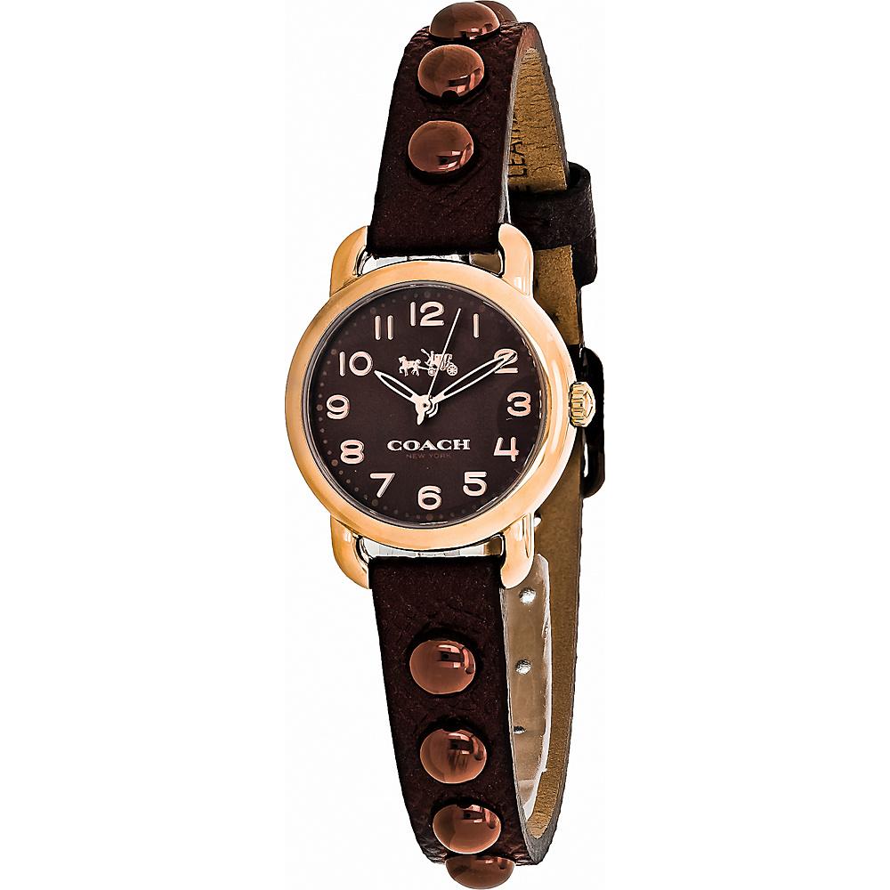 Coach Watches Coach Women's Delancey Watch Brown - Coach Watches Watches