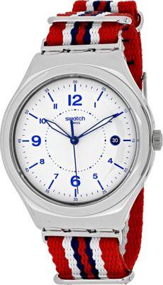 Swatch Watches Swatch Men's Irony Big Watch White - Swatch Watches Watches