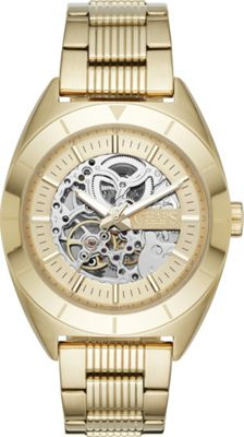 Chaps Rockton Automatic Watch Gold - Chaps Watches