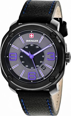 Wenger Watches Men's Escort Watch Black - Wenger Watches Watches