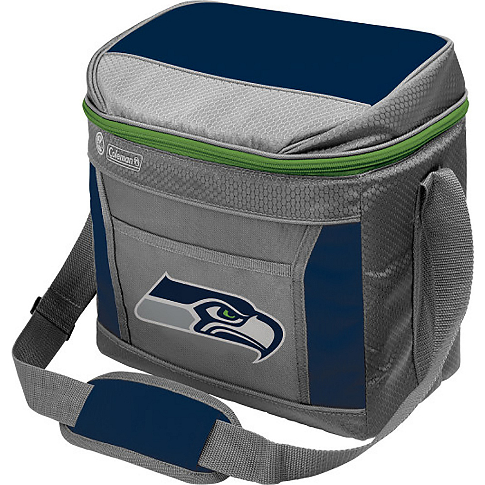 Rawlings Sports NFL 16 Can Soft Sided Cooler Seattle Seahawks Rawlings Sports Outdoor Coolers