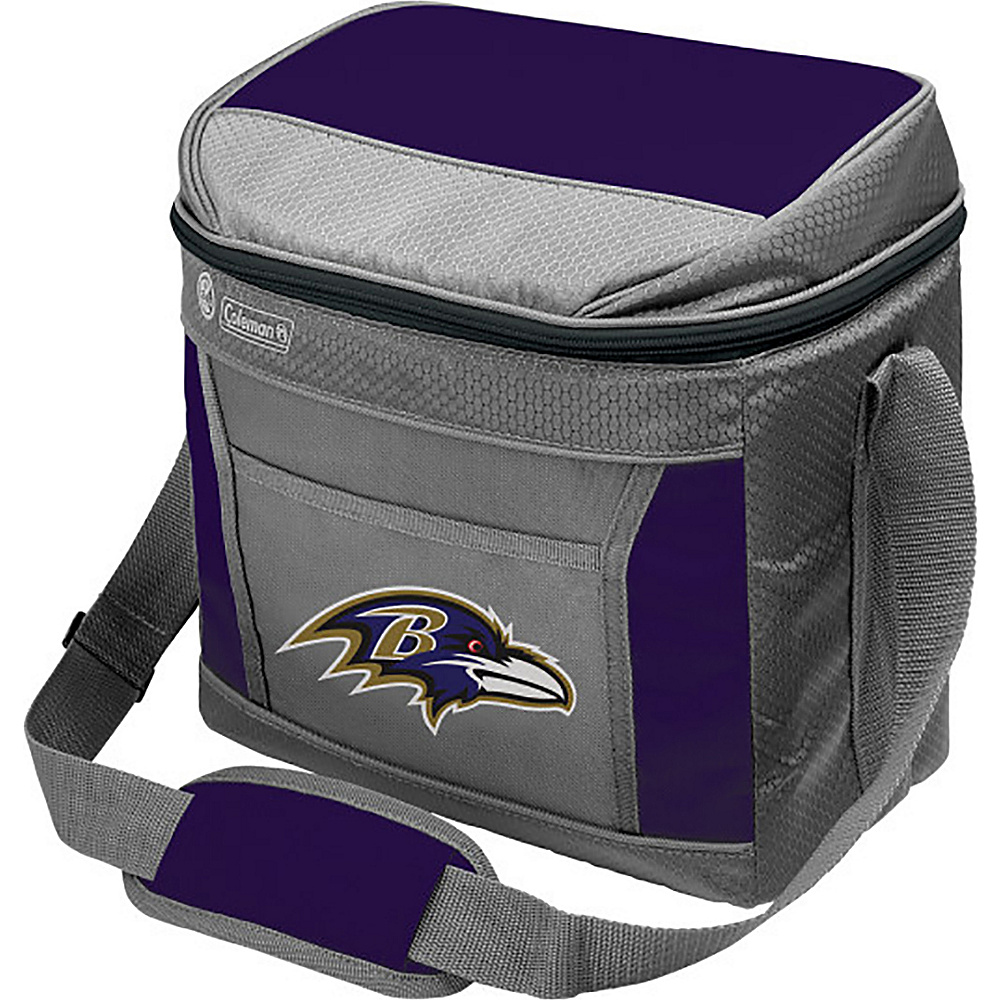 Rawlings Sports NFL 16 Can Soft Sided Cooler Baltimore Ravens Rawlings Sports Outdoor Coolers