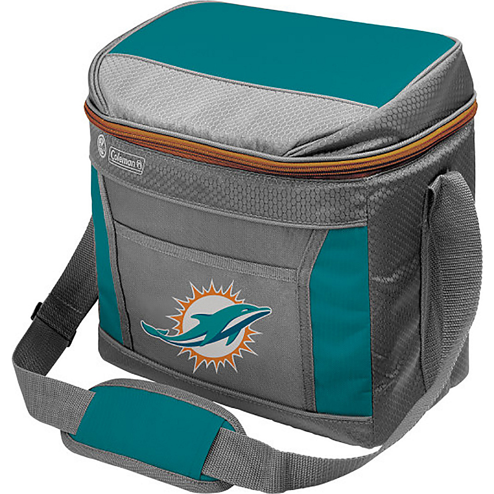 Rawlings Sports NFL 16 Can Soft Sided Cooler Miami Dolphins Rawlings Sports Outdoor Coolers