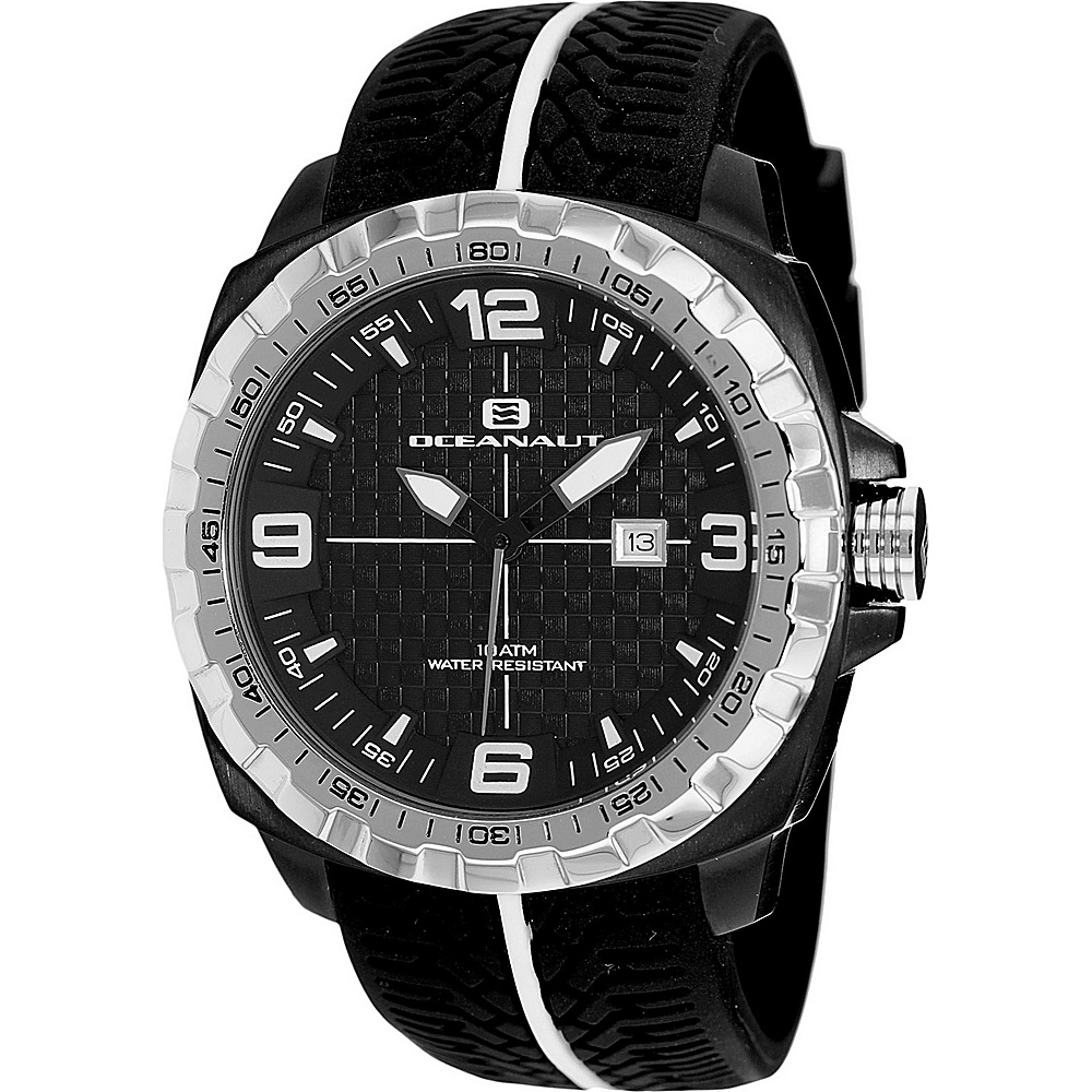 Oceanaut Watches Men s Racer Watch Black Oceanaut Watches Watches