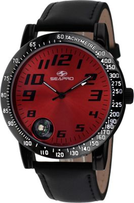 Seapro Watches Men's Raceway Watch Red - Seapro Watches Watches