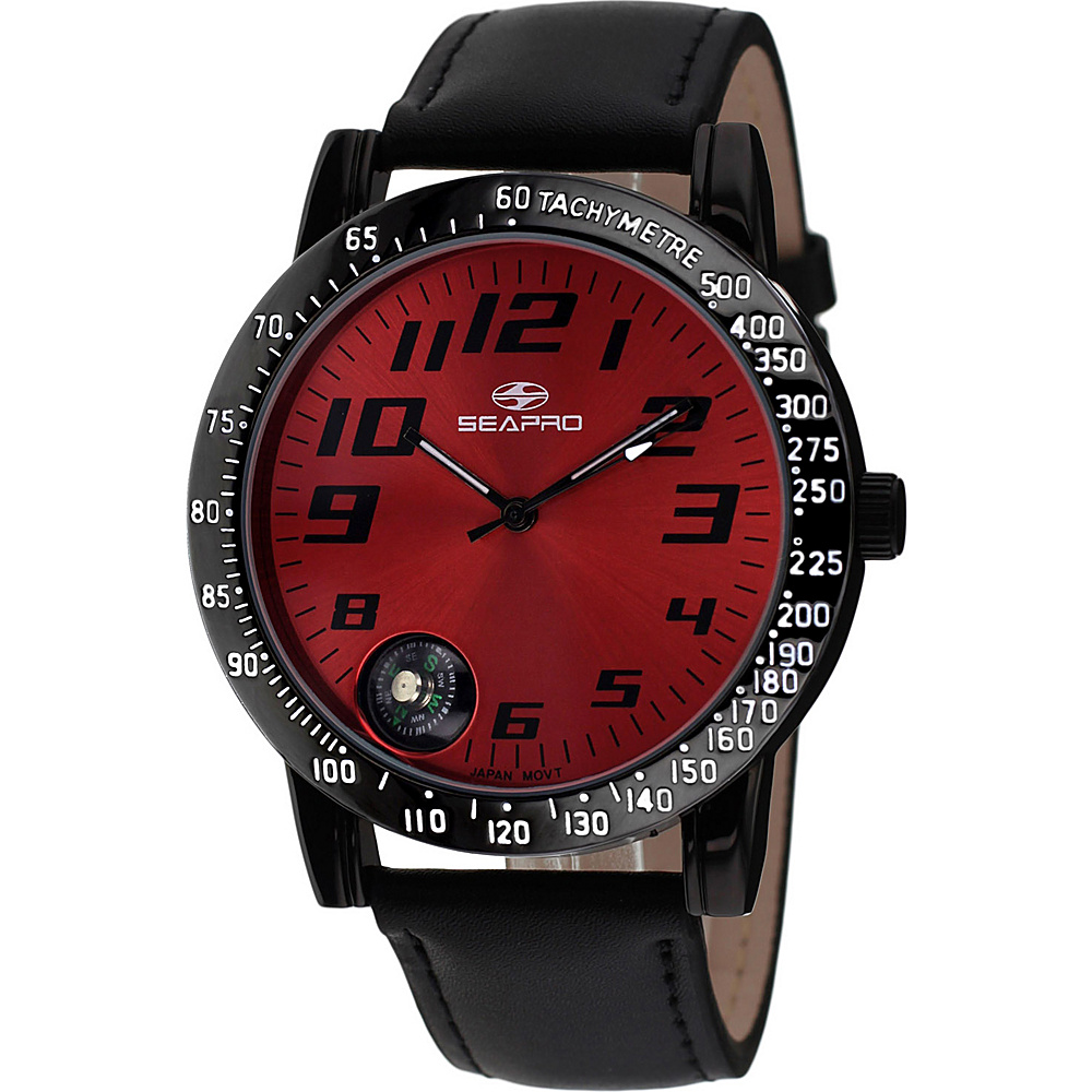 Seapro Watches Men s Raceway Watch Red Seapro Watches Watches