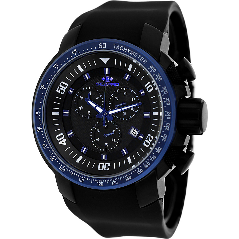 Seapro Watches Men s Imperial Watch Black Seapro Watches Watches