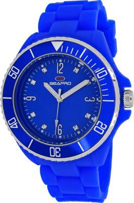 Seapro Watches Women's Sea Bubble Watch Blue - Seapro Watches Watches