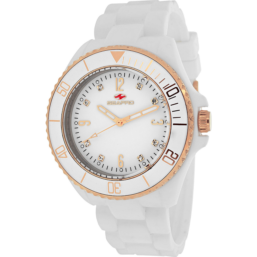 Seapro Watches Women s Sea Bubble Watch White Seapro Watches Watches