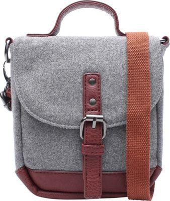 Something Strong Something Swooly Messenger Grey - Something Strong Messenger Bags