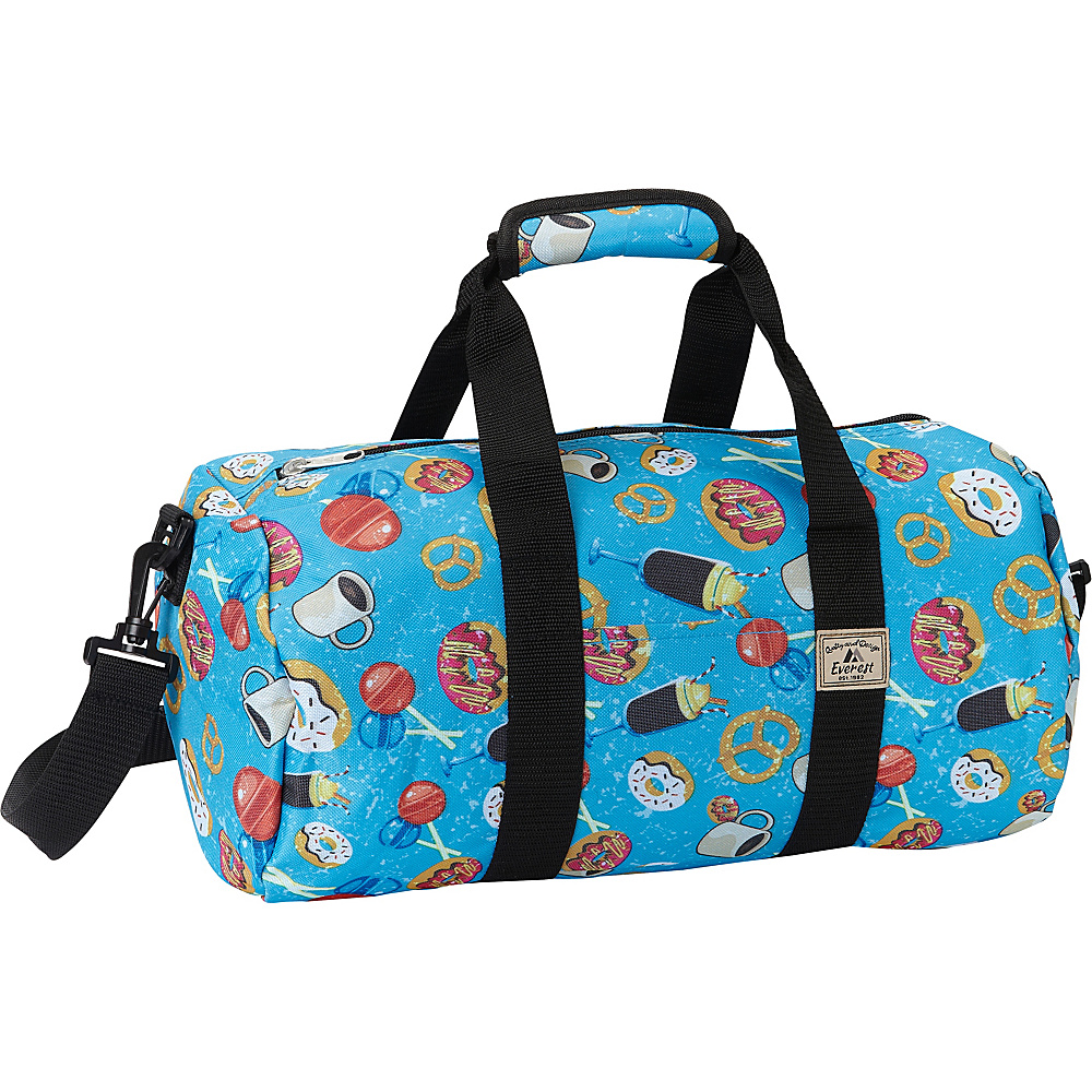 Everest Pattern 16-inch Round Duffel Donuts - Everest Travel Duffels - Duffels, Travel Duffels