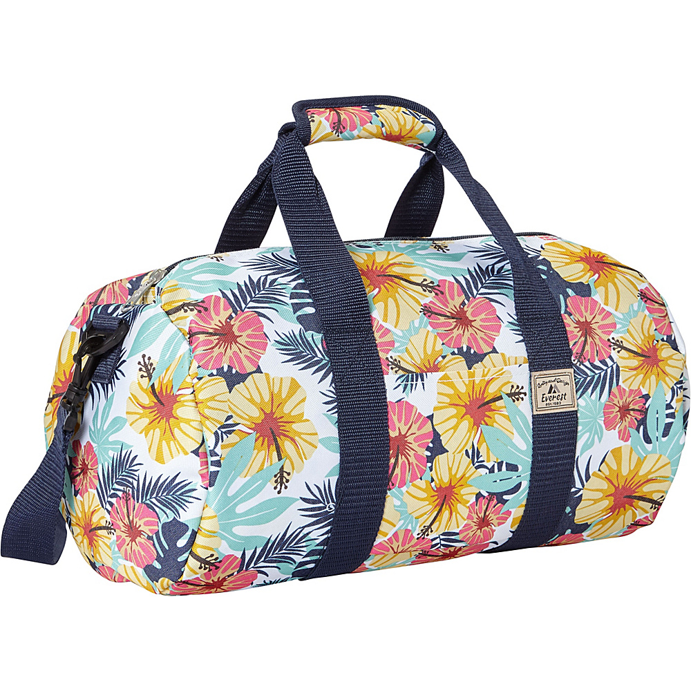 Everest Pattern 16-inch Round Duffel Tropical - Everest Travel Duffels - Duffels, Travel Duffels