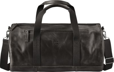 Timberland Wallets Tuckerman Leather Duffel Black - Timberland Wallets Travel Duffels