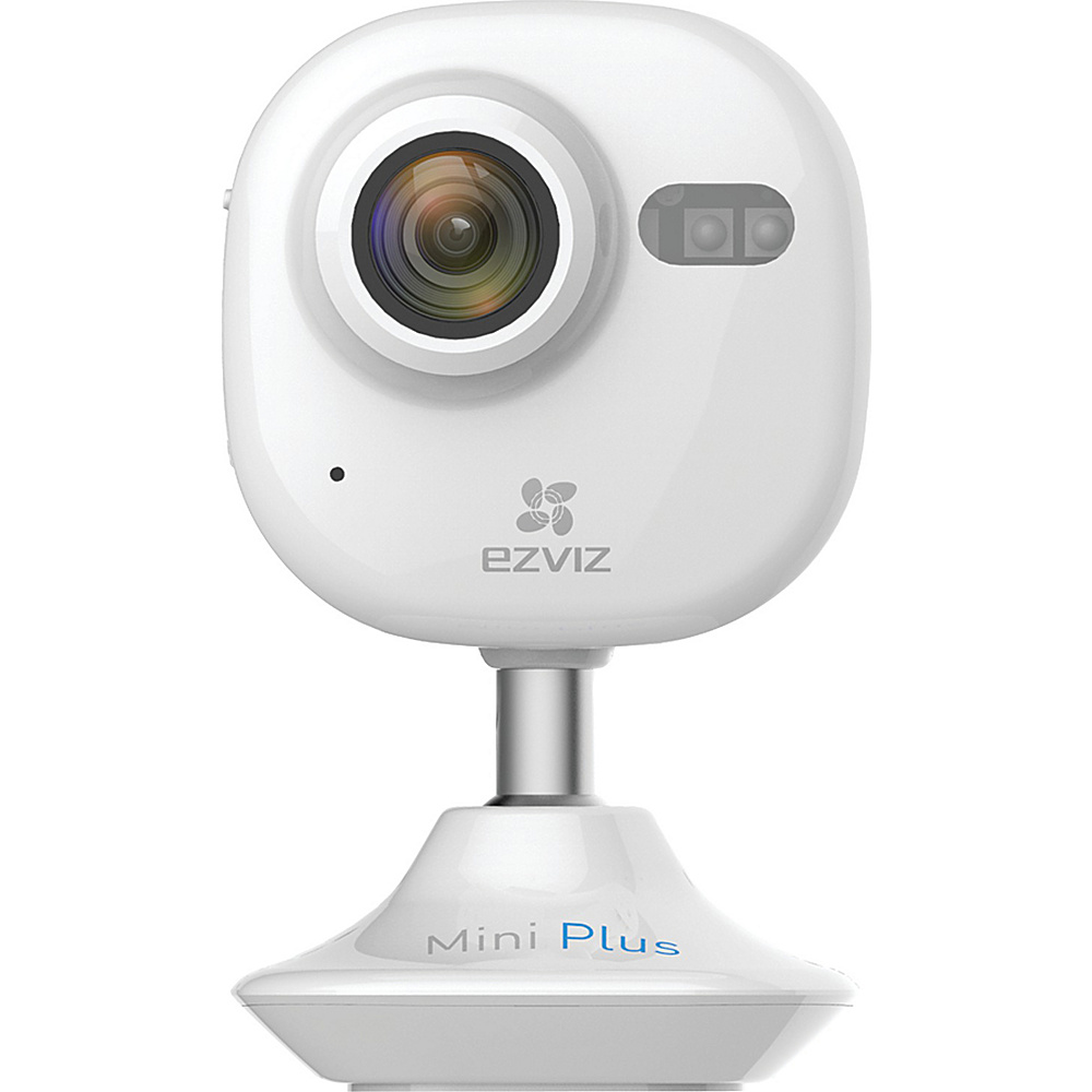 ezviz mini plus 1080p wi fi indoor camera 2 colors smart home automation new ebay. Black Bedroom Furniture Sets. Home Design Ideas