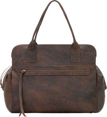 TrueLu The Ava Shoulder Bag Walnut - TrueLu Leather Handbags