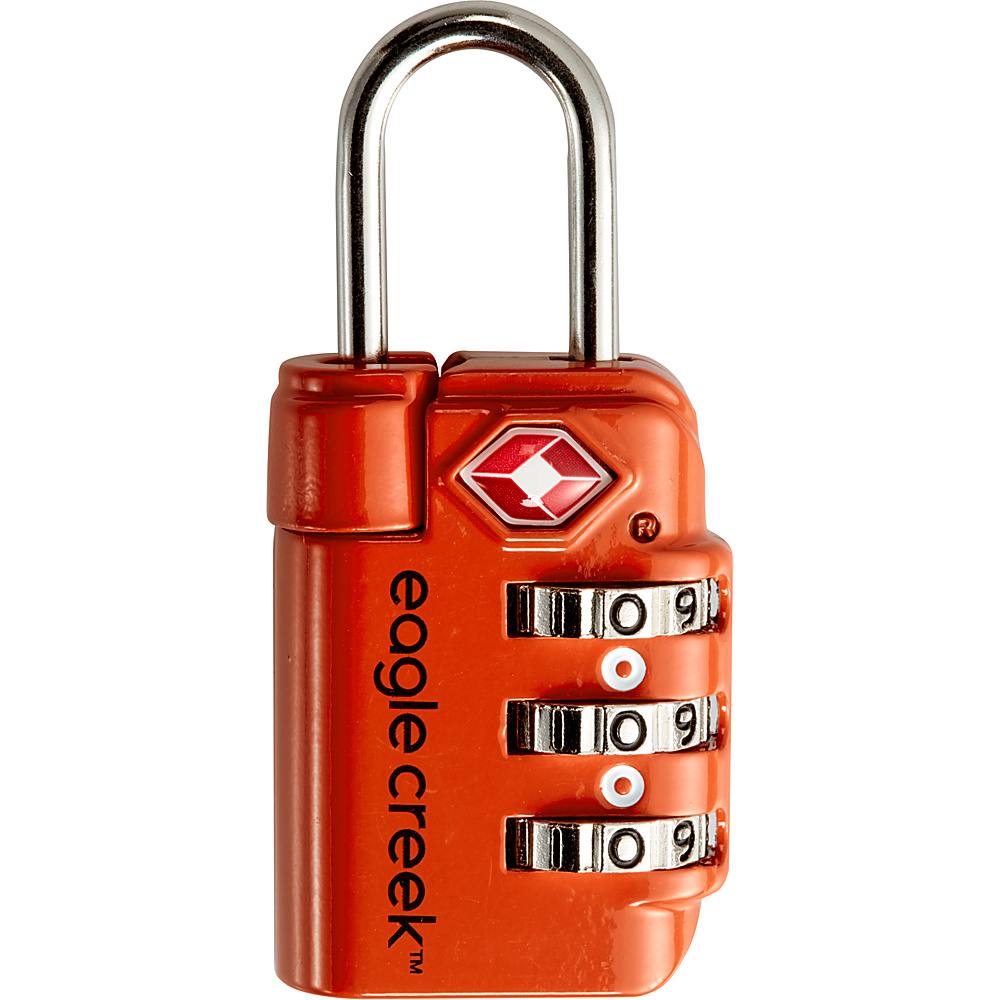 Eagle Creek Travel Safe TSA Lock Flame Orange - Eagle Creek Luggage Accessories - Travel Accessories, Luggage Accessories