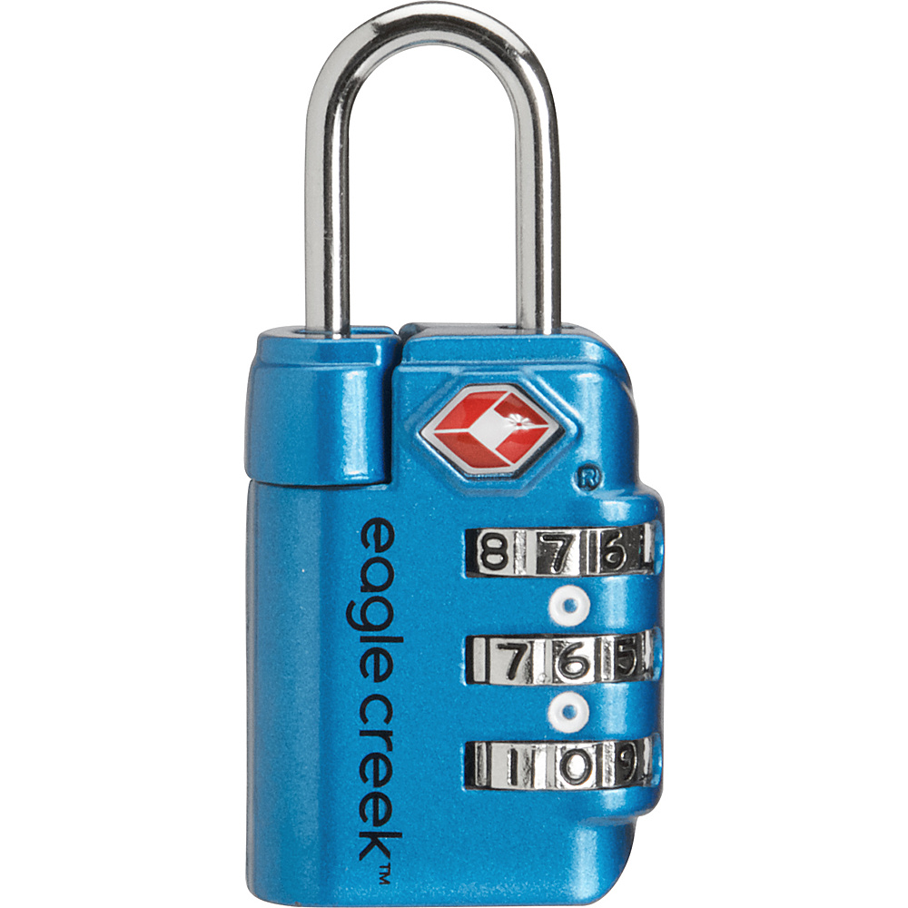 Eagle Creek Travel Safe TSA Lock Brilliant Blue - Eagle Creek Luggage Accessories - Travel Accessories, Luggage Accessories