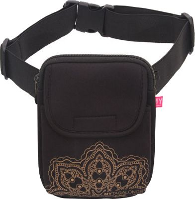 MYTAGALONGS MYTAGALONGS Mandala Walking Bag Black/Rose - MYTAGALONGS Waist Packs