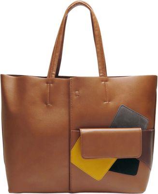Like Dreams Betty Tote Cognac - Like Dreams Manmade Handbags