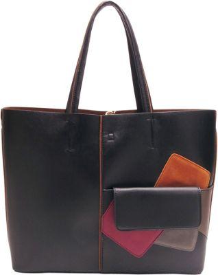 Like Dreams Betty Tote Black - Like Dreams Manmade Handbags