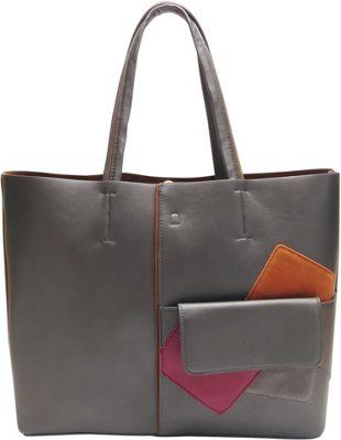 Like Dreams Betty Tote Grey - Like Dreams Manmade Handbags