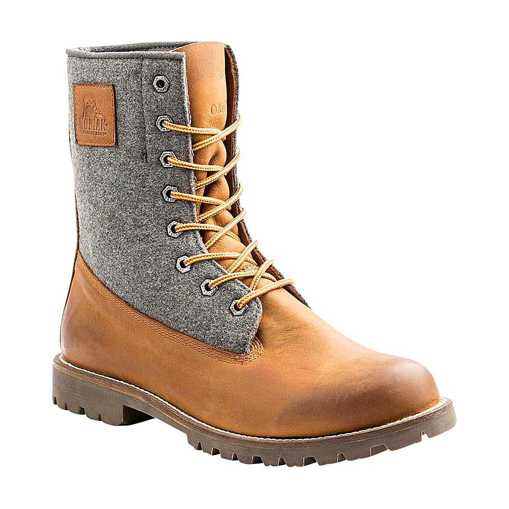 Kodiak Heritage Wool Boot 10.5 - Caramel - Kodiak Mens Footwear - Apparel & Footwear, Men's Footwear