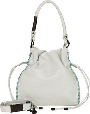 Foley + Corinna Ami Drawstring Caribbean Blue - Foley + Corinna Leather Handbags