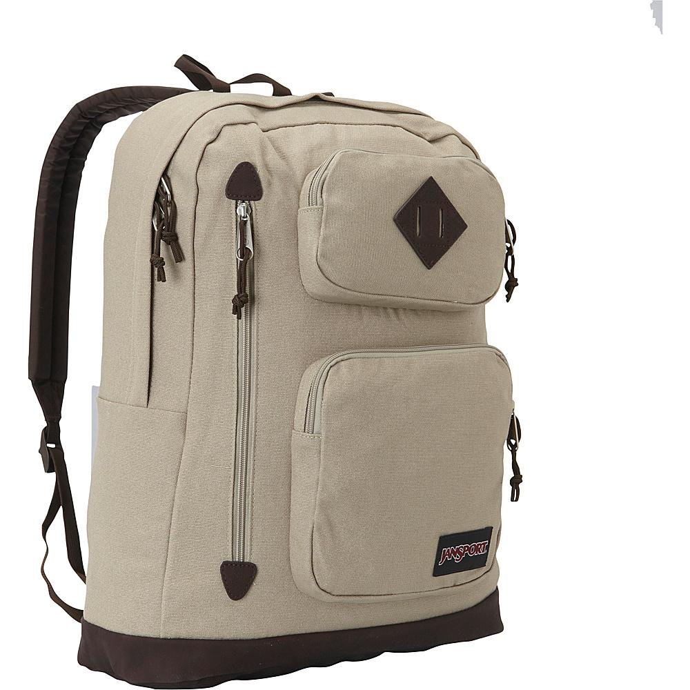 JanSport Houston Laptop Backpack- Discontinued Colors Desert Beige - JanSport Business & Laptop Backpacks - Backpacks, Business & Laptop Backpacks