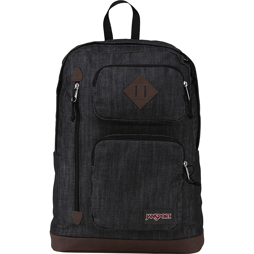 JanSport Houston Laptop Backpack- Discontinued Colors Blue Denim - Expressions - JanSport Business & Laptop Backpacks - Backpacks, Business & Laptop Backpacks