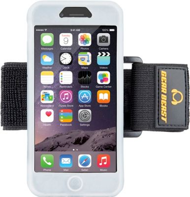 Gear Beast iPhone 6 Silicone Armband Clear - Gear Beast Electronic Cases