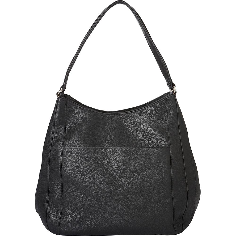 Derek Alexander Large Soft Top Zip Tote Black - Derek Alexander Leather Handbags - Handbags, Leather Handbags