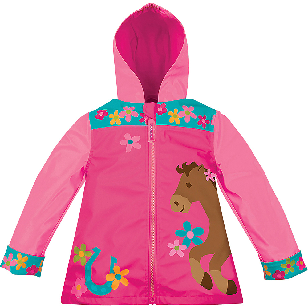 Stephen Joseph Kids Rain Coat 4/5 - Horse - Girl - Stephen Joseph Womens Apparel - Apparel & Footwear, Women's Apparel