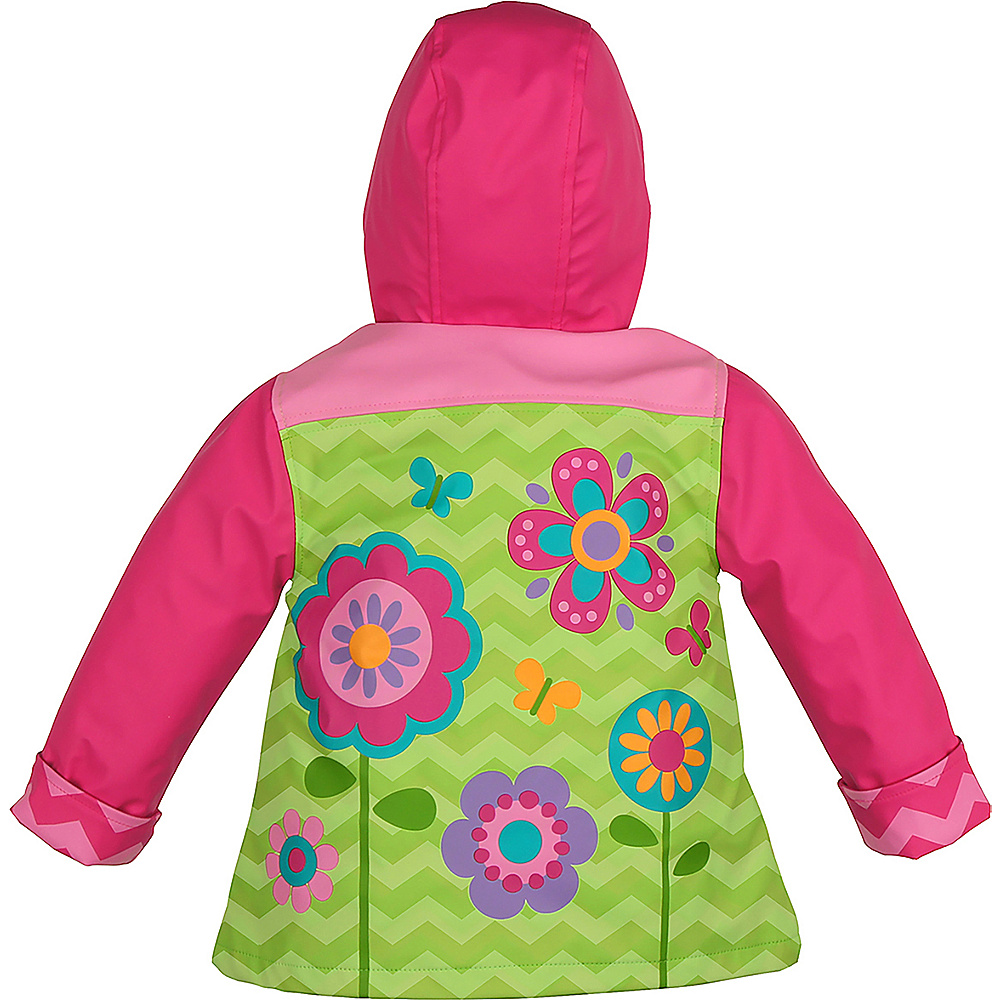 Stephen Joseph Kids Rain Coat 2T - Flower - Stephen Joseph Womens Apparel - Apparel & Footwear, Women's Apparel