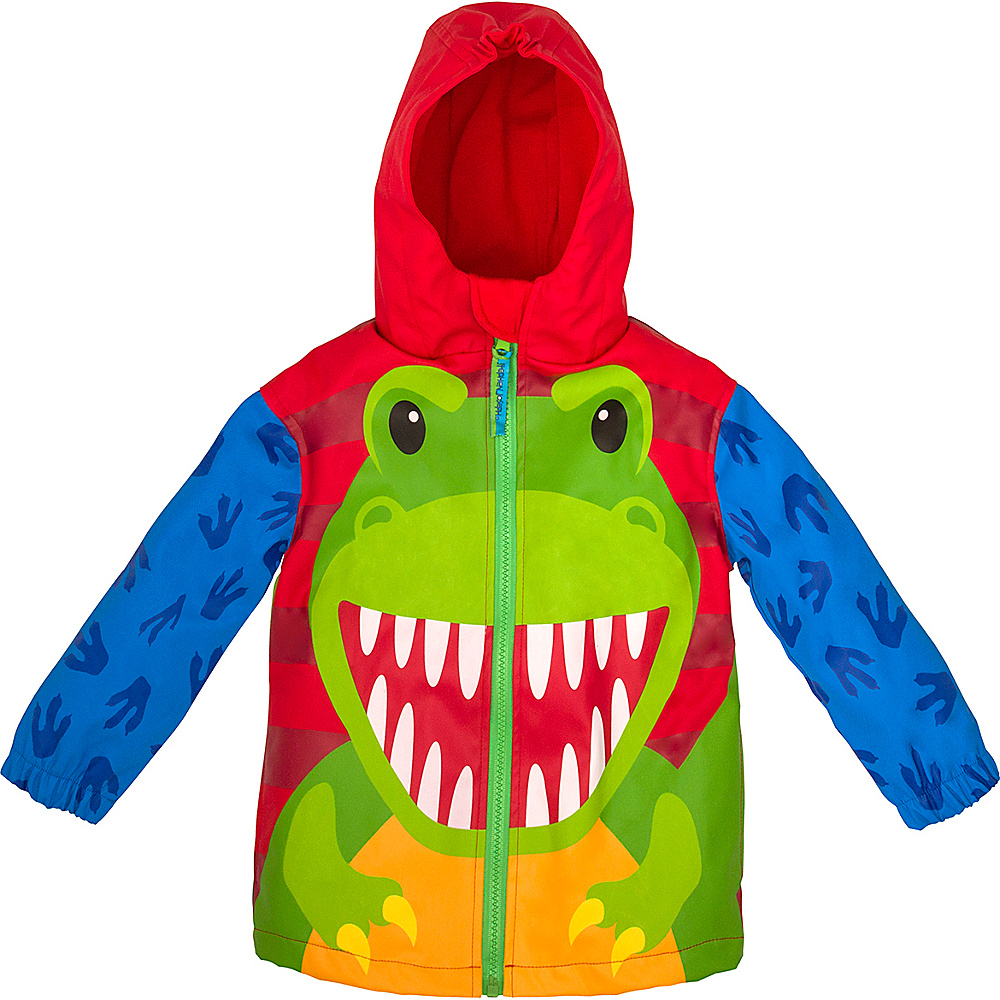 Stephen Joseph Kids Rain Coat 4T - Dino - Stephen Joseph Womens Apparel - Apparel & Footwear, Women's Apparel