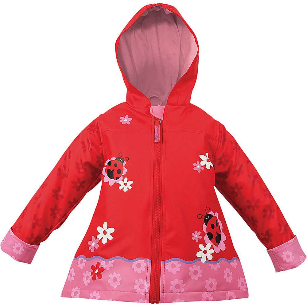 Stephen Joseph Kids Rain Coat 6X - Ladybug - Stephen Joseph Womens Apparel - Apparel & Footwear, Women's Apparel