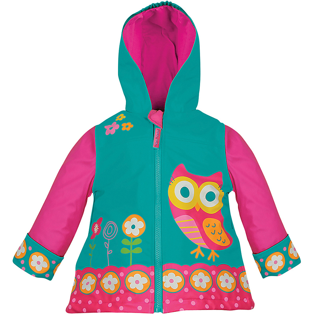 Stephen Joseph Kids Rain Coat 3T - Owl - Stephen Joseph Womens Apparel - Apparel & Footwear, Women's Apparel