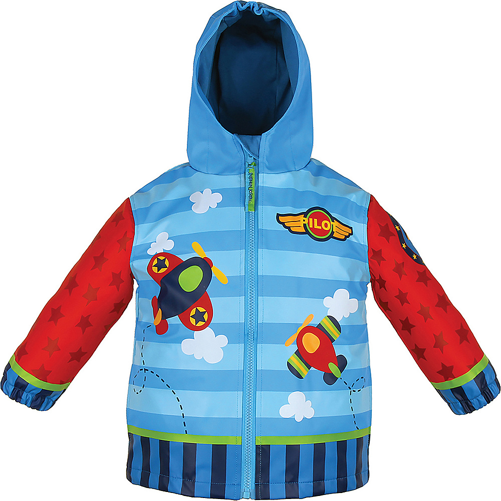 Stephen Joseph Kids Rain Coat 6X - Airplane - Stephen Joseph Womens Apparel - Apparel & Footwear, Women's Apparel