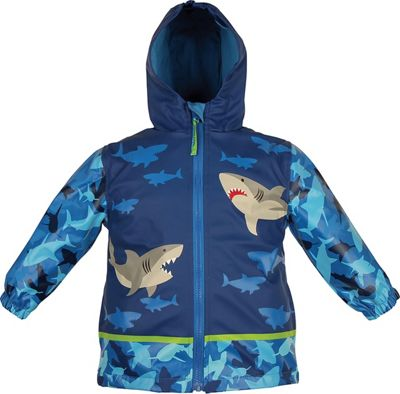 Stephen Joseph Kids Rain Coat 3T - Shark - Stephen Joseph Women's Apparel