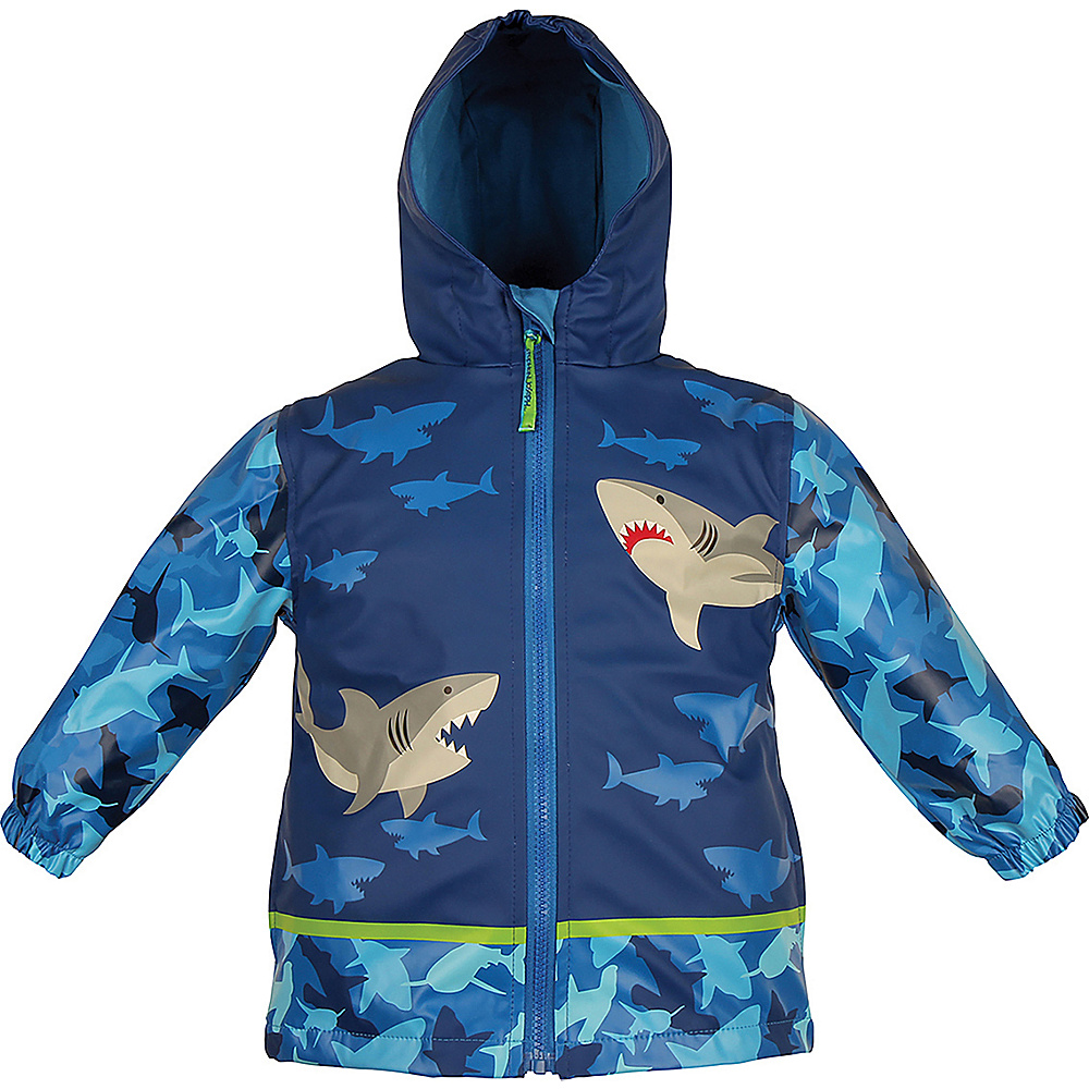 Stephen Joseph Kids Rain Coat 3T - Shark - Stephen Joseph Womens Apparel - Apparel & Footwear, Women's Apparel