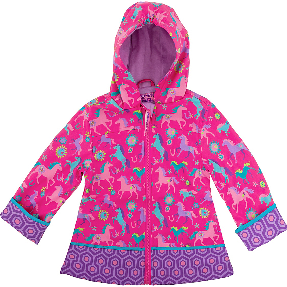 Stephen Joseph Kids Rain Coat 7/8 - Horse - Stephen Joseph Womens Apparel - Apparel & Footwear, Women's Apparel
