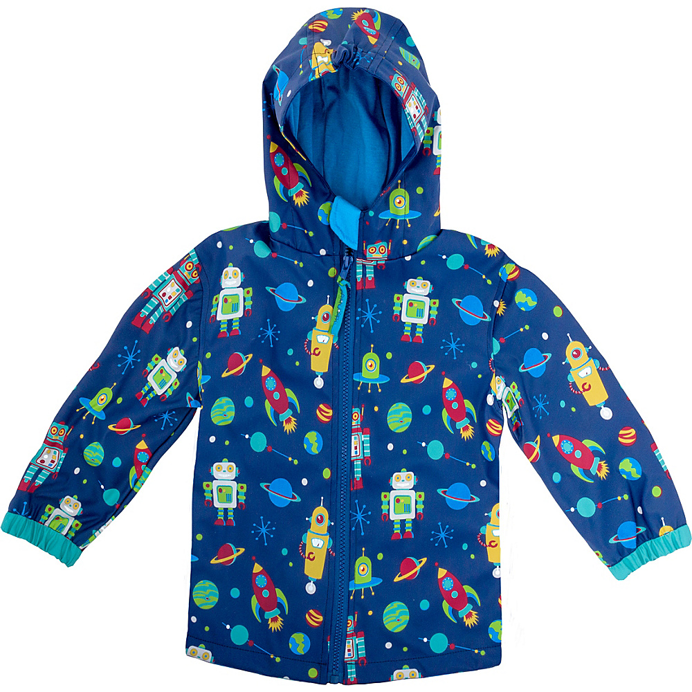 Stephen Joseph Kids Rain Coat 2T - Robot - Stephen Joseph Womens Apparel - Apparel & Footwear, Women's Apparel