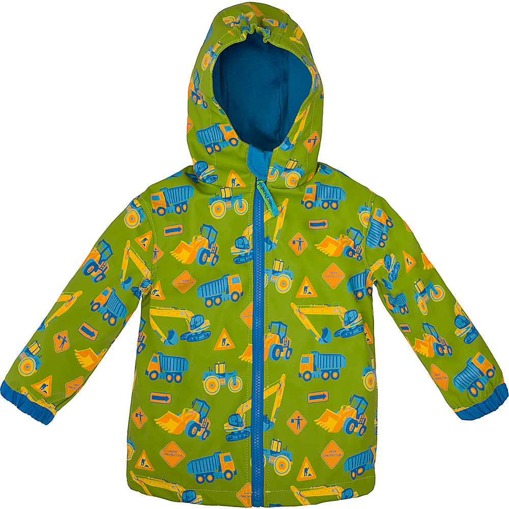 Stephen Joseph Kids Rain Coat 3T - Construction - Stephen Joseph Womens Apparel - Apparel & Footwear, Women's Apparel