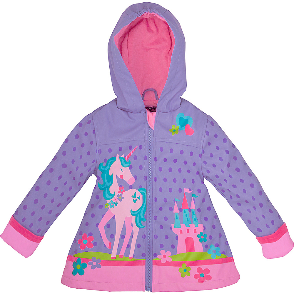 Stephen Joseph Kids Rain Coat 2T - Unicorn - Stephen Joseph Womens Apparel - Apparel & Footwear, Women's Apparel