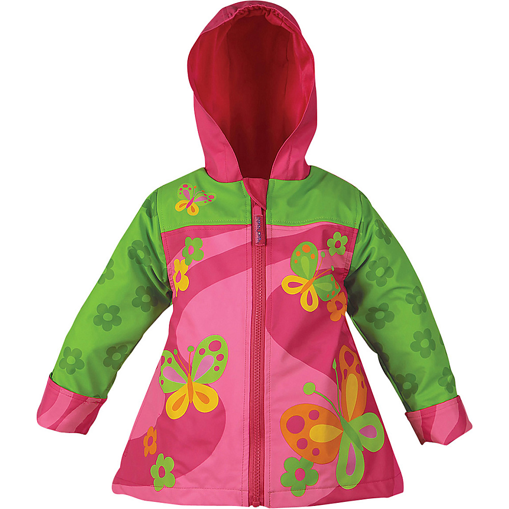 Stephen Joseph Kids Rain Coat 2T - Butterfly - Stephen Joseph Womens Apparel - Apparel & Footwear, Women's Apparel