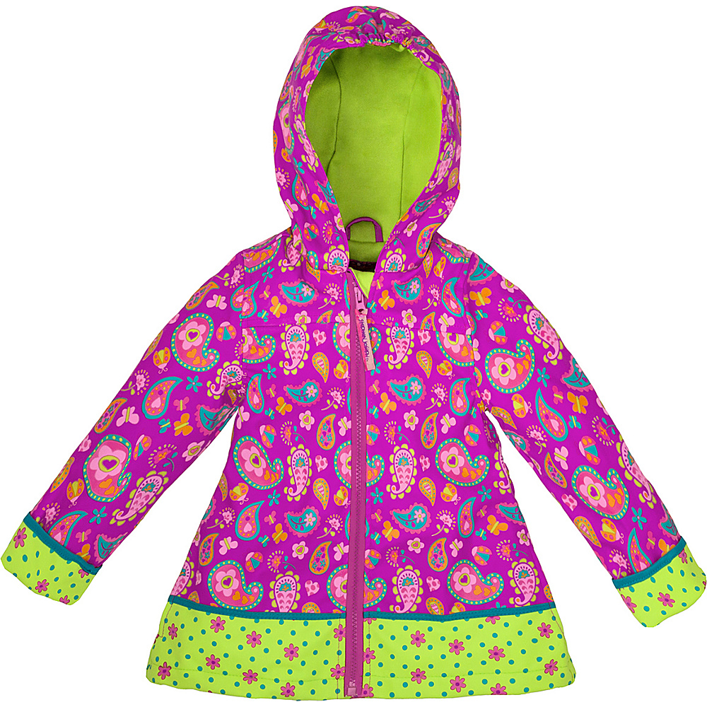 Stephen Joseph Kids Rain Coat 6X - Paisley - Stephen Joseph Womens Apparel - Apparel & Footwear, Women's Apparel