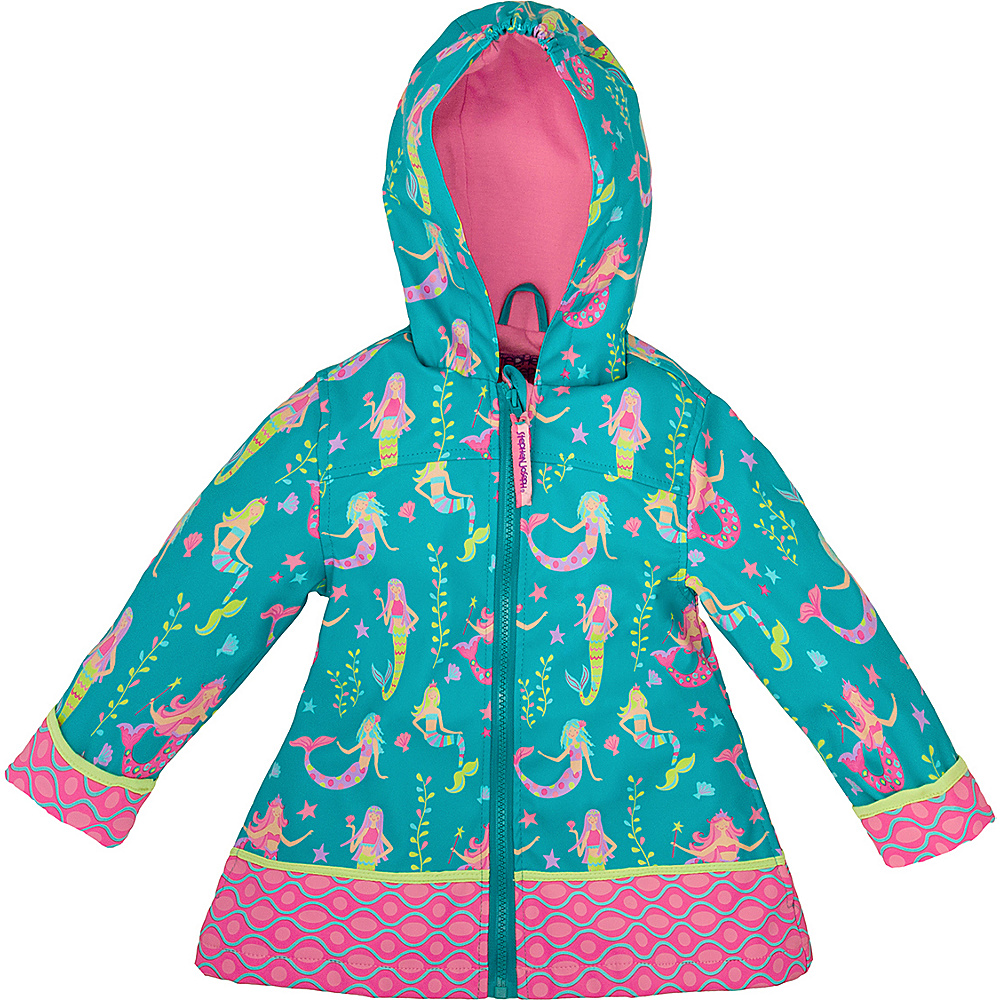 Stephen Joseph Kids Rain Coat 2T - Mermaid - Stephen Joseph Womens Apparel - Apparel & Footwear, Women's Apparel