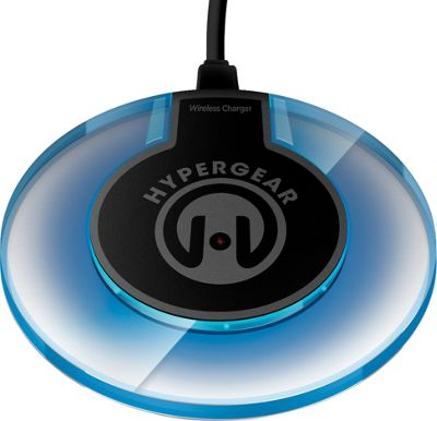 HyperGear UFO Qi Wireless Charging Pad Blue - HyperGear Portable Batteries & Chargers