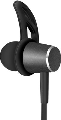HyperGear MagBuds Wireless Aluminum Alloy Earphones Black - HyperGear Wearable Technology