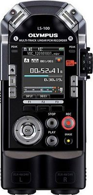 Olympus 4GB Digital Voice Recorder Black - Olympus Portable Entertainment