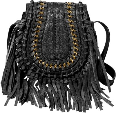 Aimee Kestenberg Handbags Genny Crossbody Black - Aimee Kestenberg Handbags Leather Handbags